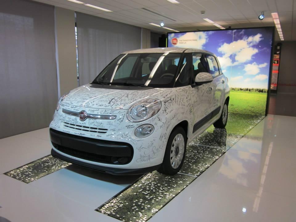 Fiat 500 L u muzeju FAS -a